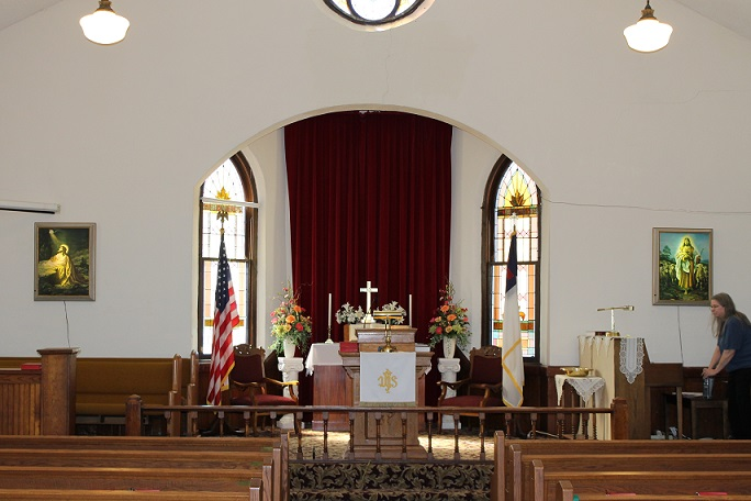 sanctuary interior